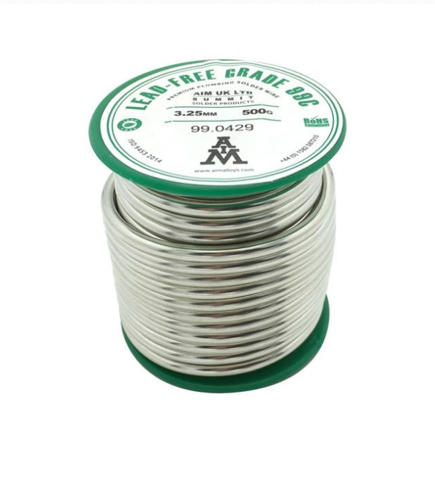 Roll of Lead-Free Solder Wire 500g